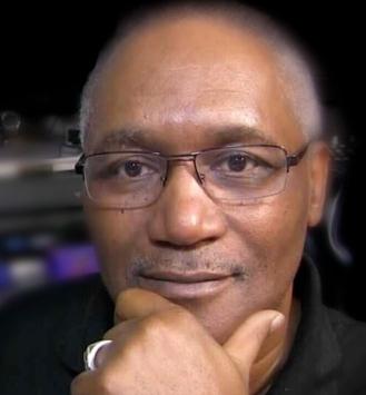 Khaliq Glover in studio